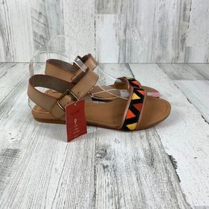 MOSSIMO tribal sandals